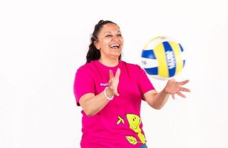 Det er både gøy og viktig å være aktiv, mener Maritza Moya.